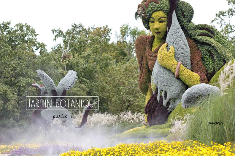 Montr al le jardin botanique les mosa cultures pause s for Le jardin botanique camping
